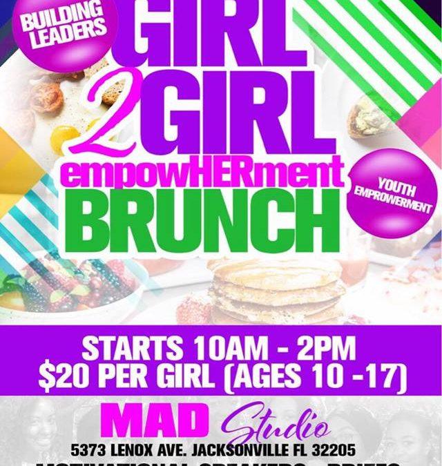 Girl2Girl EmpowHERment Brunch – September 29th